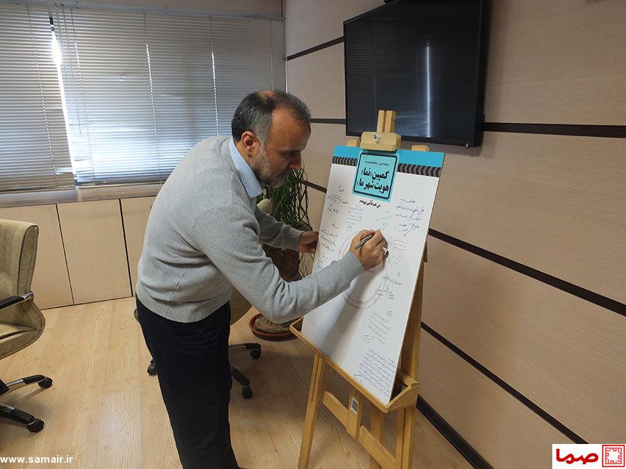 شهردار منطقه 3 تهران به کمپین «نما، هویت شهر ما» پیوست