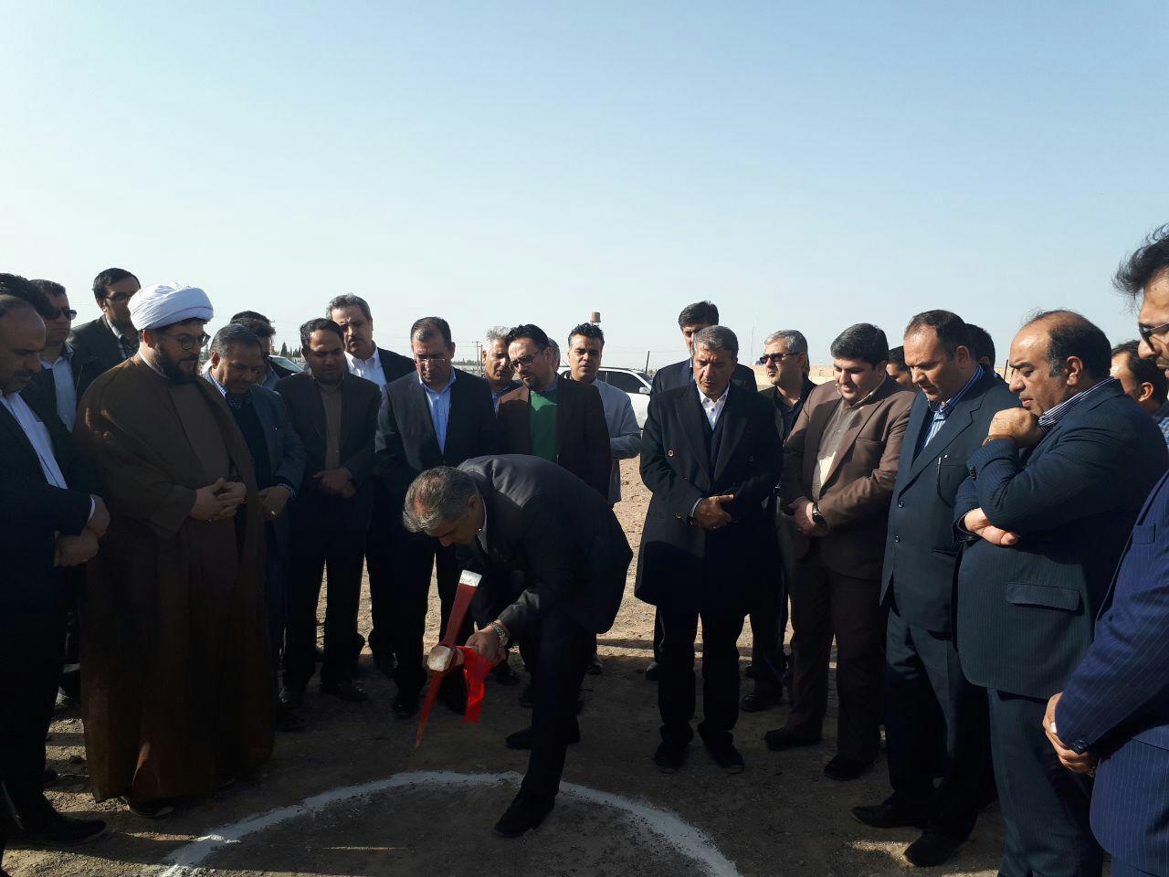 آغاز عملیات اجرایی احداث سایت ۴۸ واحدی مسکن حمایتی در رفسنجان